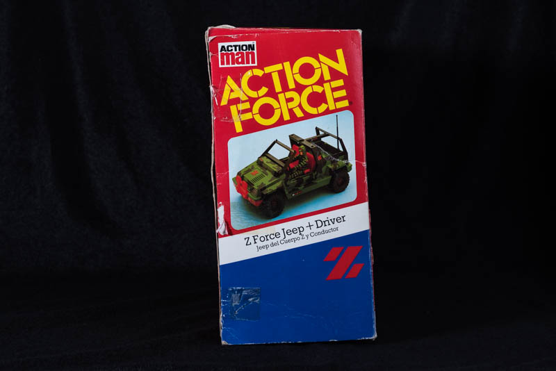 Action Force - Z Force Jeep