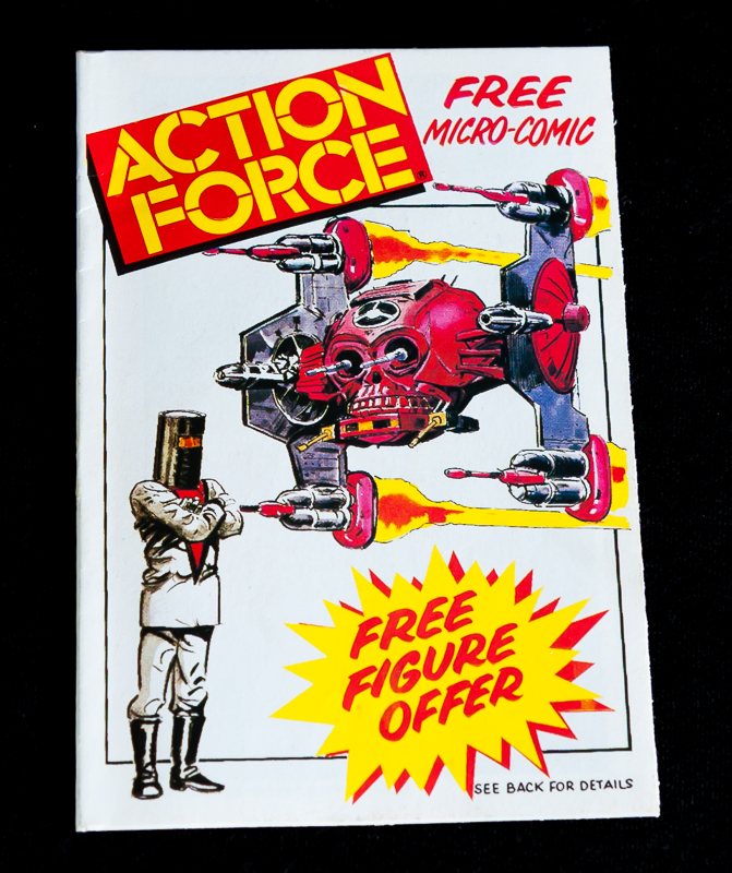 Action Force - Micro Comic