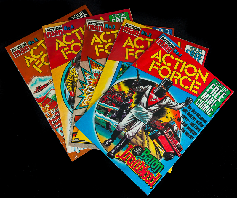 Action Force Mini Comics