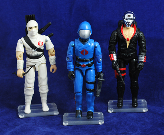 G.I. JOE/Action Force Stands