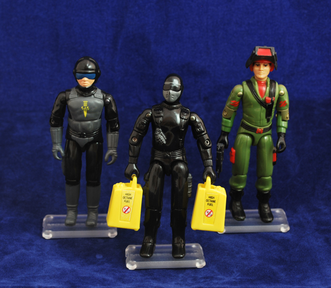 Action Force Figure Stands
