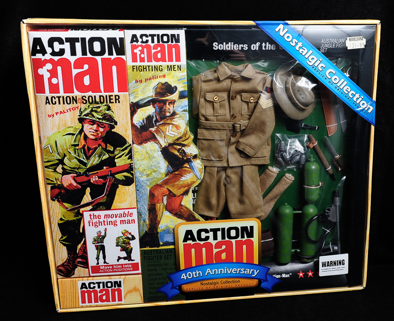 Action Man - Boxed 40th Collection - Jungle Fighter Set