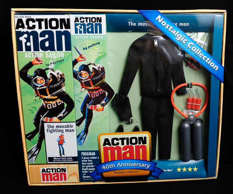 Action Man - Boxed 40th Collection - Frogman Set
