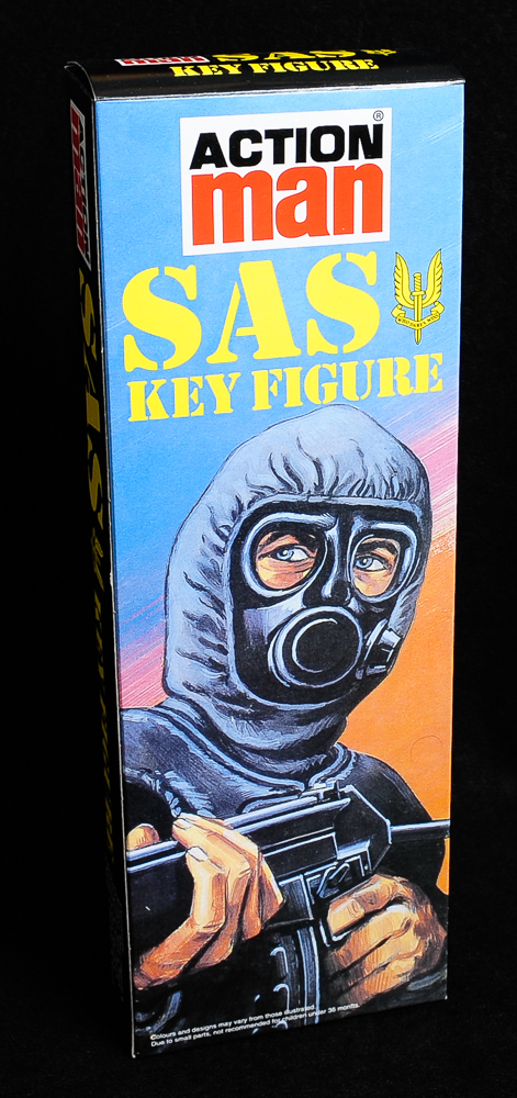 Action Man - Boxed 40th Collection - SAS Key  Figure