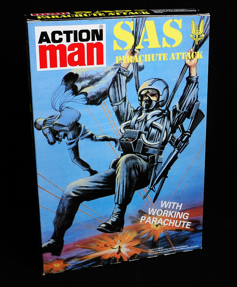 Action Man - Boxed 40th Collection - Parachute Attack Outfit
