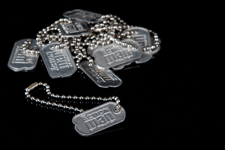 Action Man Metal ID Dog Tags