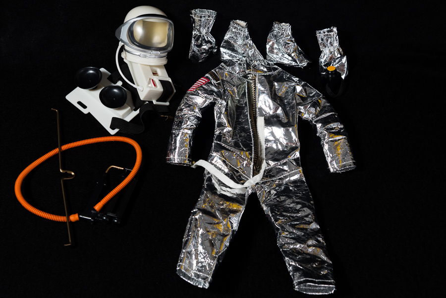 Action Man - 40th Collection Loose Astronaut Space Suit