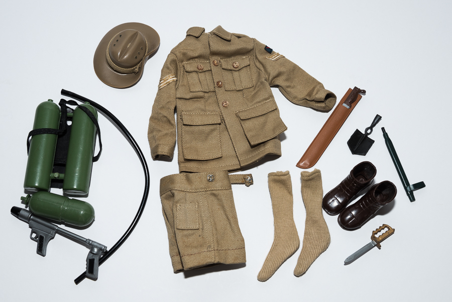 Australian Jungle Fighter Outfit