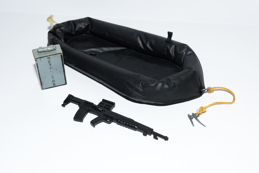 Action Man SAS Raft & Accessories