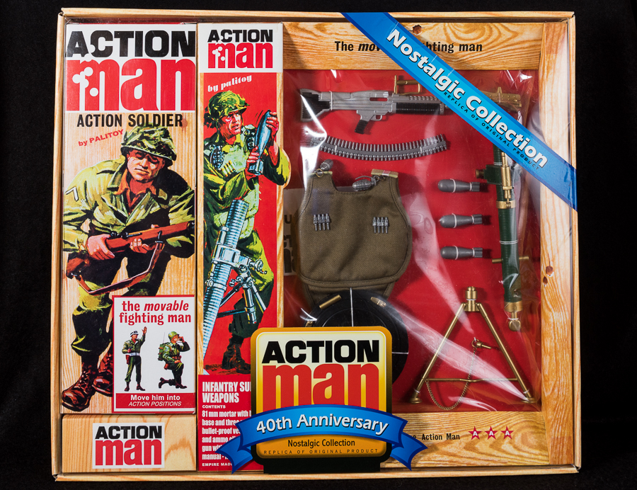 Action Man - Boxed 40th Collection - Infantry Support Set