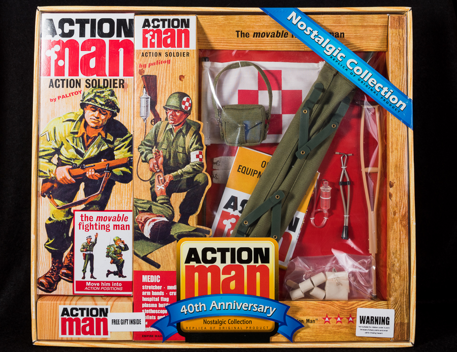 Action Man - Boxed 40th Collection - Medic Set