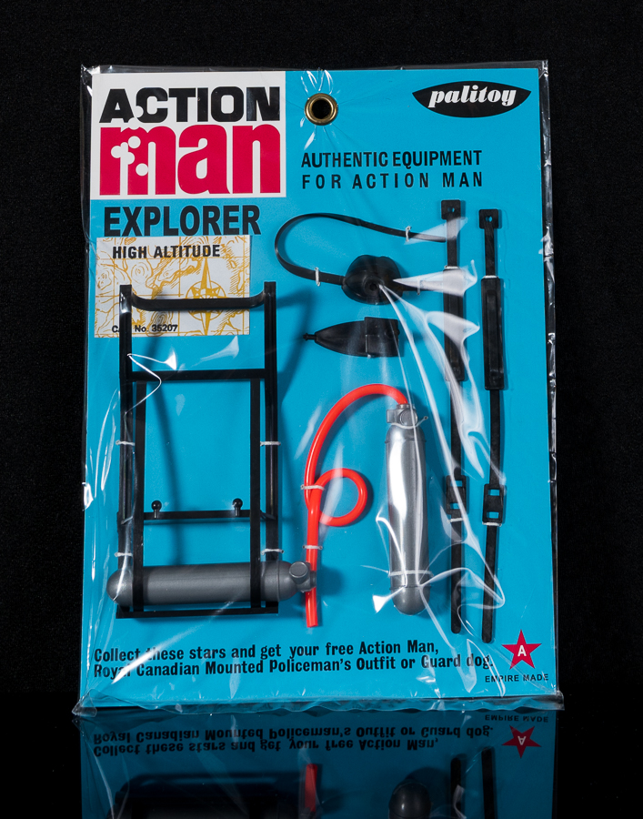 Action Man Explorer Equipment