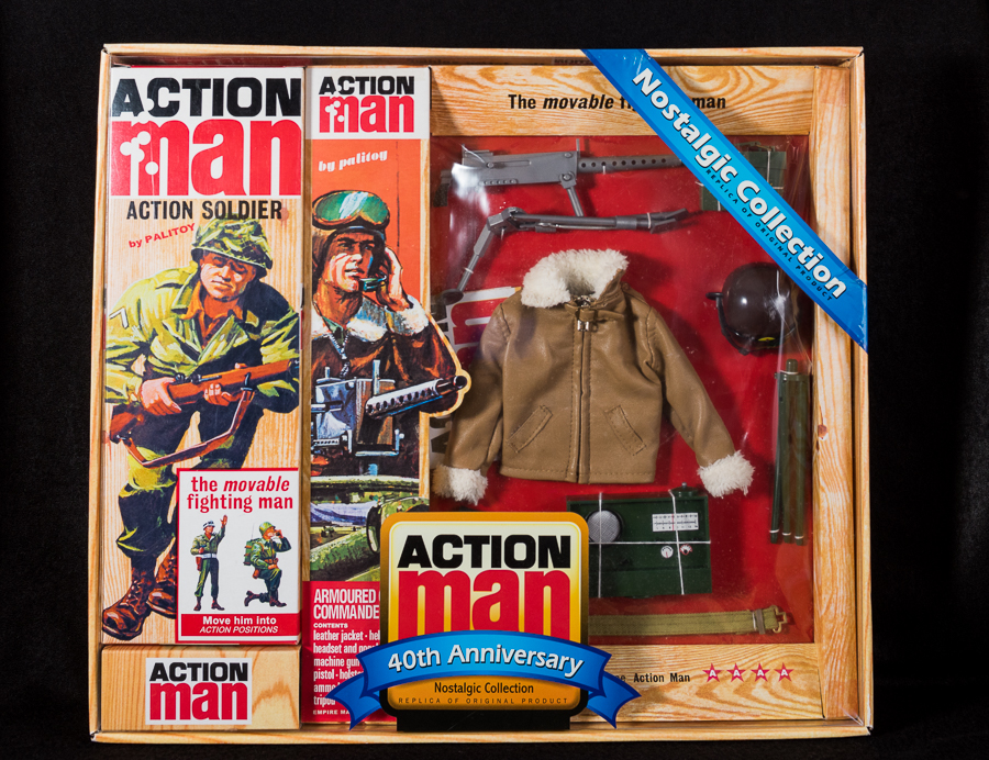 Action Man - Boxed 40th Collection - Armoured Commander