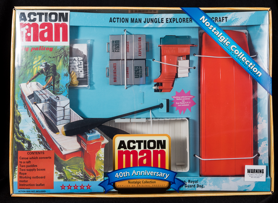 Action Man - Boxed 40th Collection - Jungle Explorer
