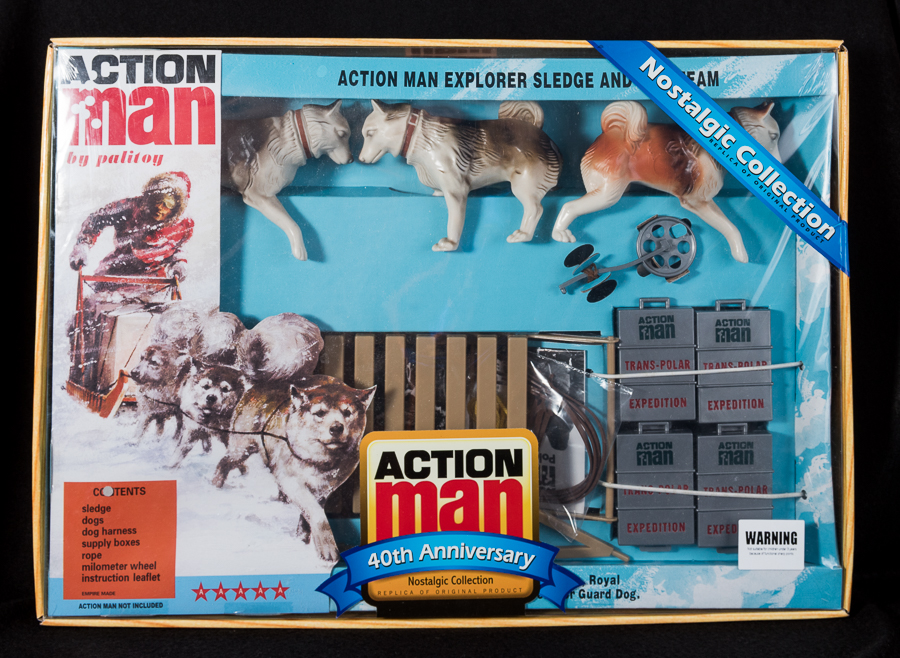 Action Man - Boxed 40th Collection - Explorer Sledge & Team