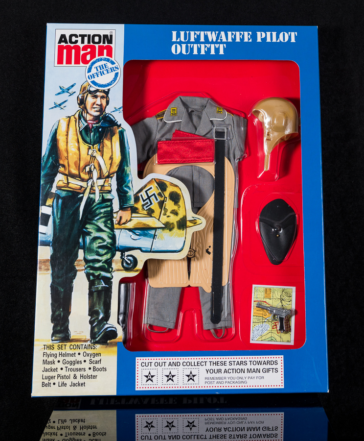 Action Man - Boxed 40th Collection - Luftwaffe Pilot Outfit