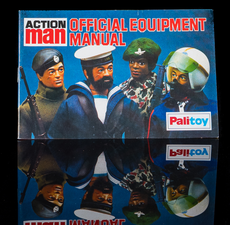 Action Man Official Equipment Manual Palitoy Pilot, Sailor Cover