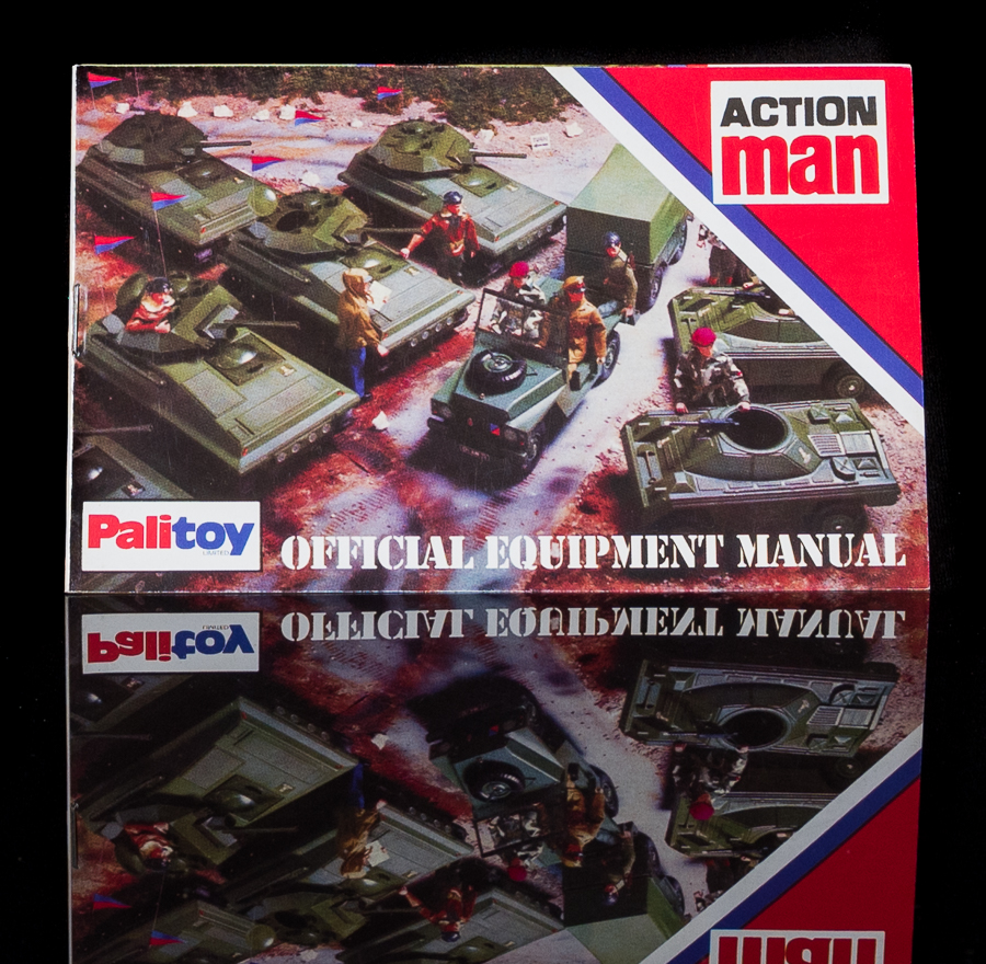 Action Man Official Equipment Manual - Military
