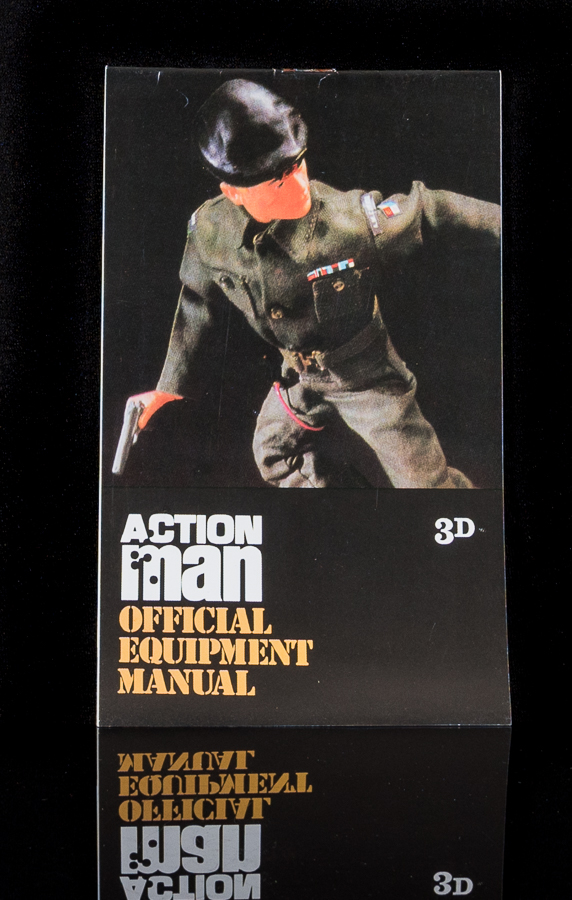 Action Man Official Equipment Manual - 3D