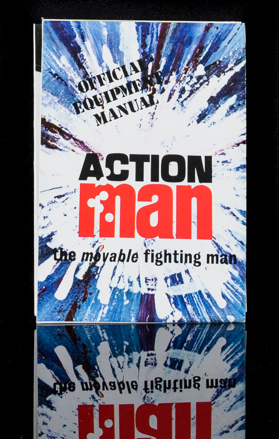 Action Man Official Equipment Manual - Explosion