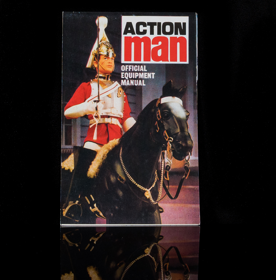 Action Man Official Equipment Manual Royal Guard on Horse Back Cover