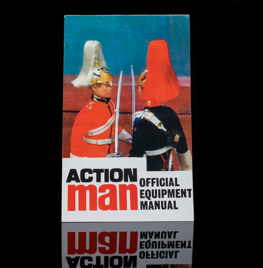 Action Man Official Equipment Manual x2 Royal Guard Cover