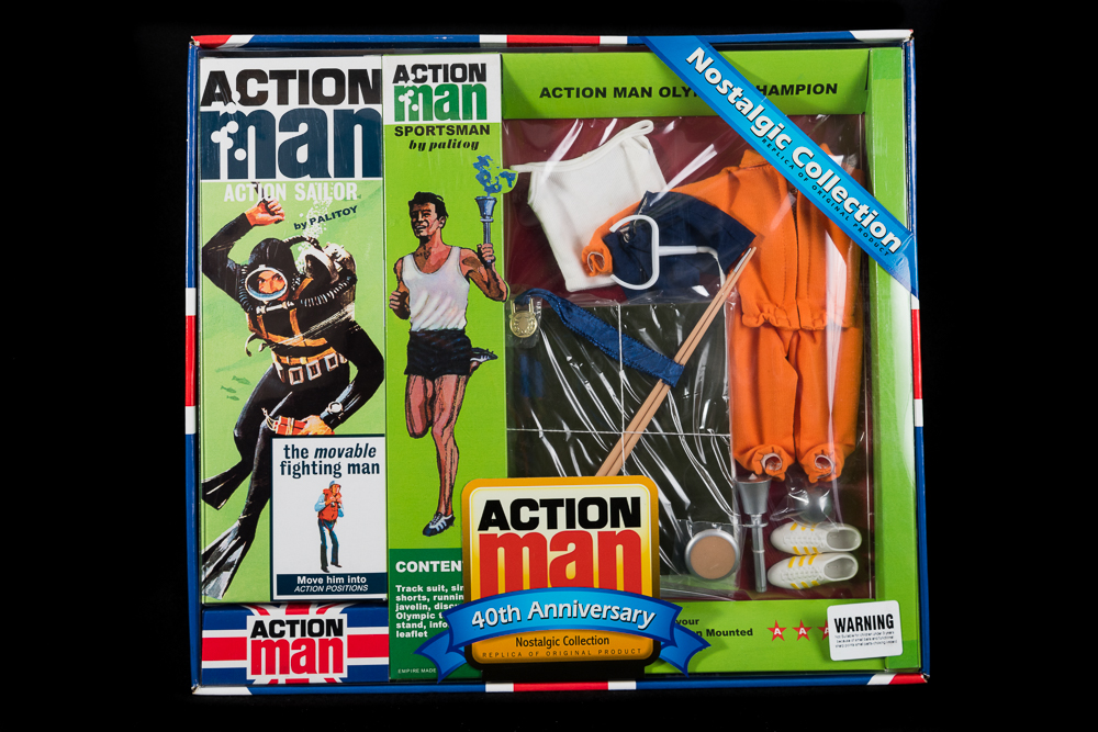 Action Man - Boxed 40th Collection - Sailor Figure & SportsmanSet