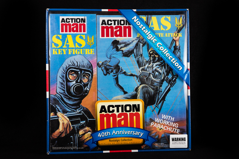 Action Man - Boxed 40th Collection SAS Key Figure & SAS Parachute Attack