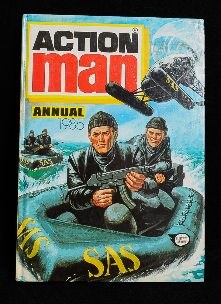 Action Man 1985 Annual