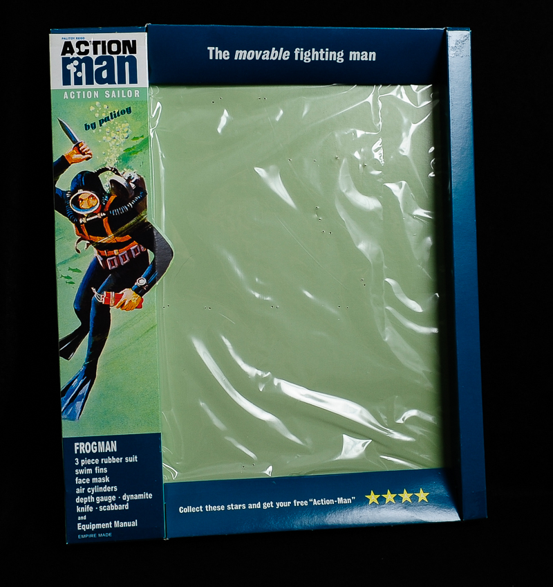Action Man Frogman Outfit Box