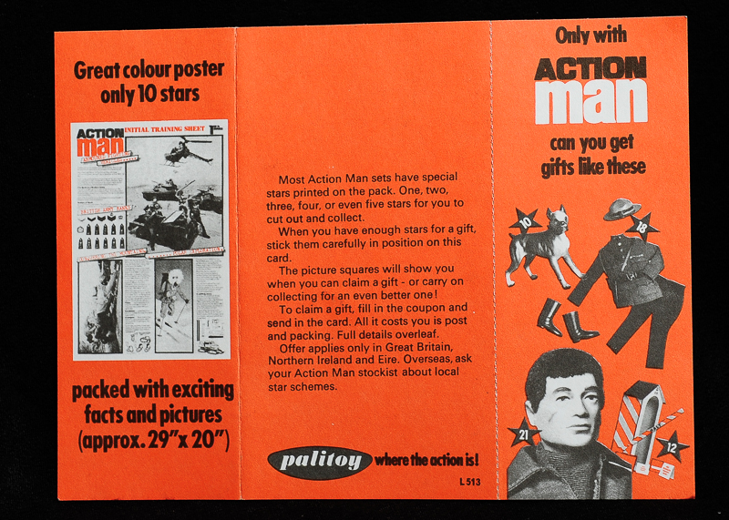 Action Man Collectors Star Card