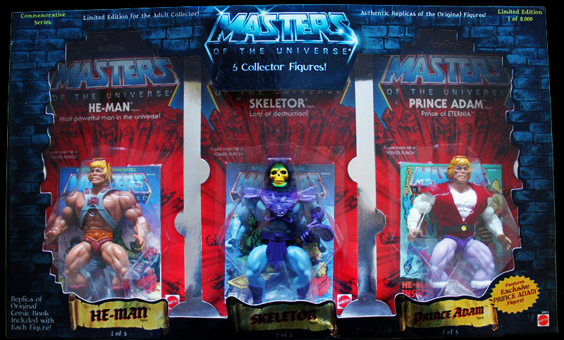 MOTU Commemorative Figures