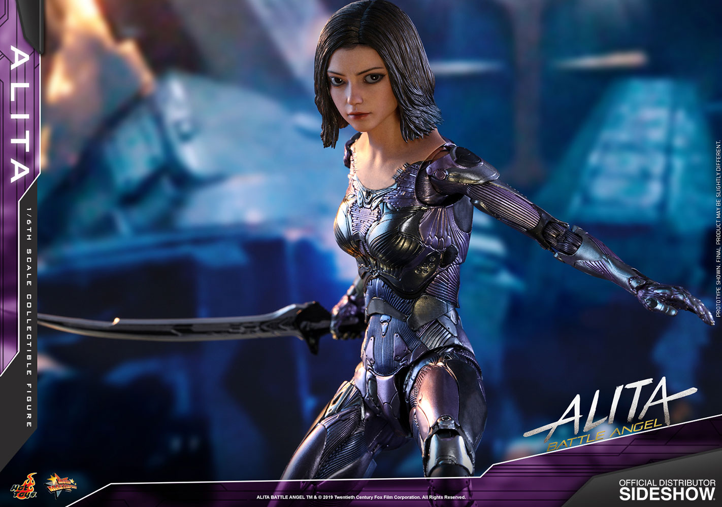 Alita - Battle Angel - Sixth Scale Figure by Hot Toyss
