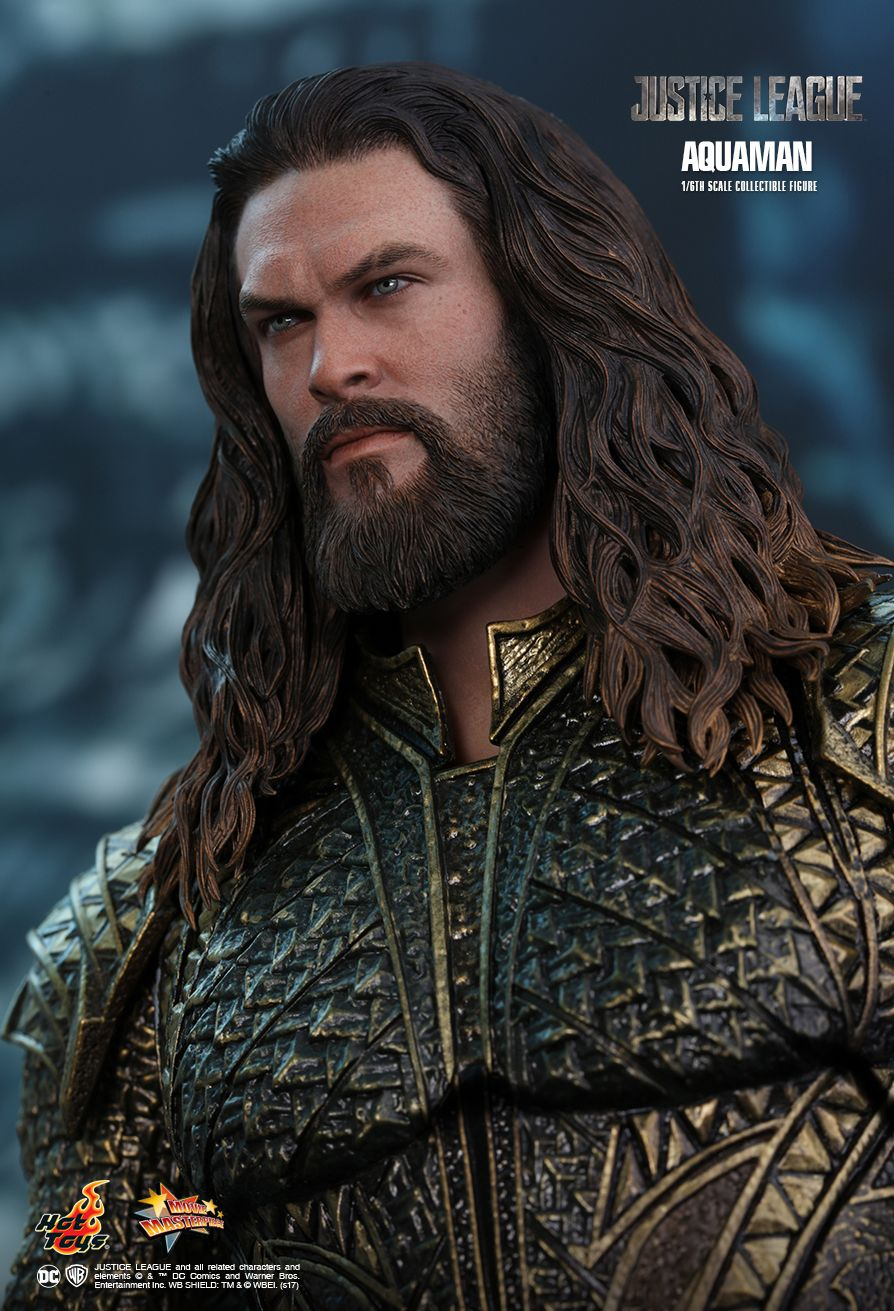 Aquaman  Sixth Scale Figure by Hot Toys  Justice League - Movie Masterpiece Series