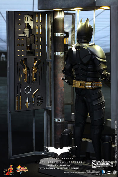 Hot Toys MMS236 - Batman Armory with Bruce Wayne & Alfred