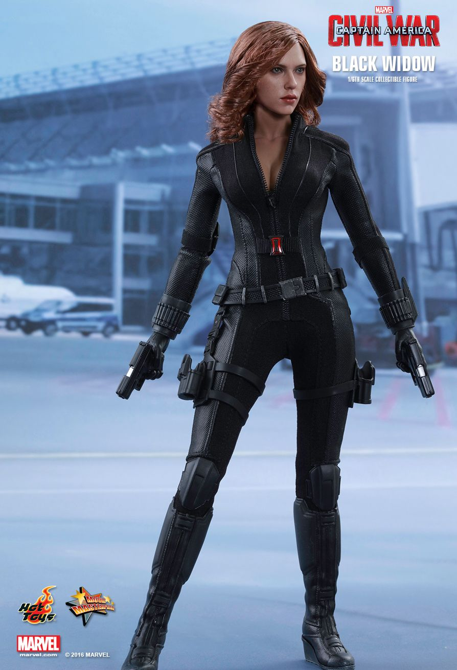 Black Widow Sixth Scale Figure by Hot Toys Captain America: Civil War - Movie Masterpiece Series \