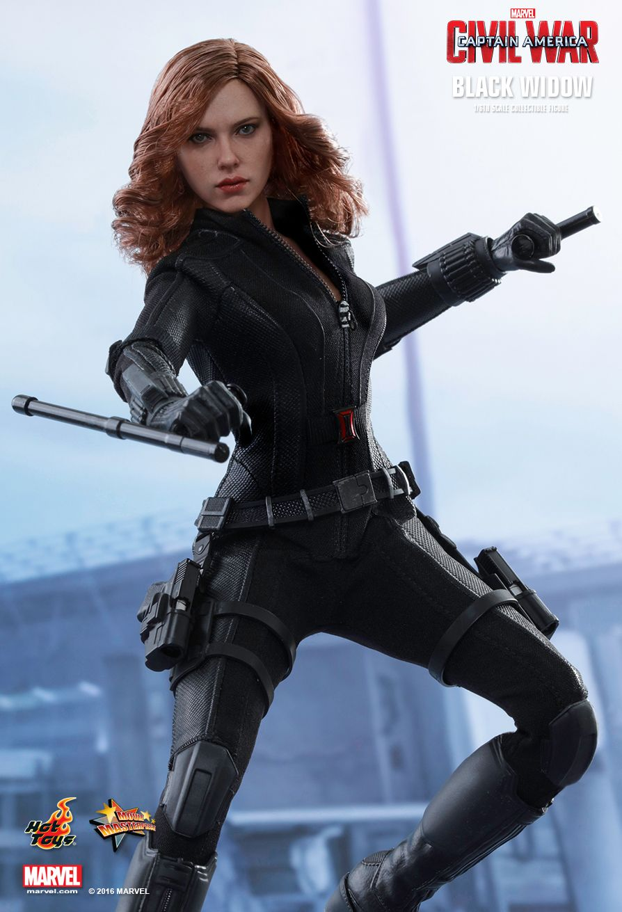 Black Widow Sixth Scale Figure by Hot Toys Captain America: Civil War - Movie Masterpiece Series