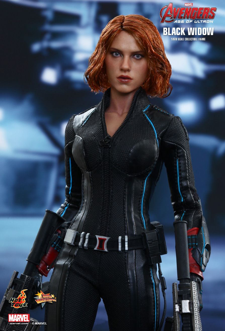 Hot Toys - Black Widow  Avengers: Age of Ultron - Movie Masterpiece Series