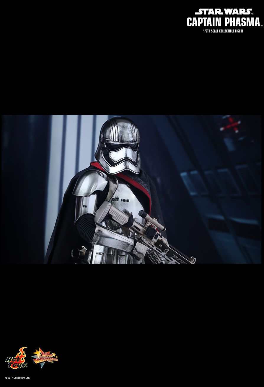 Captain Phasma Captain Phasma Sixth Scale Figure by Hot Toys