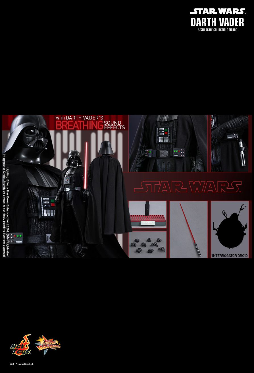 Hot Toys Star Wars: Episode IV A New Hope  Darth Vader
