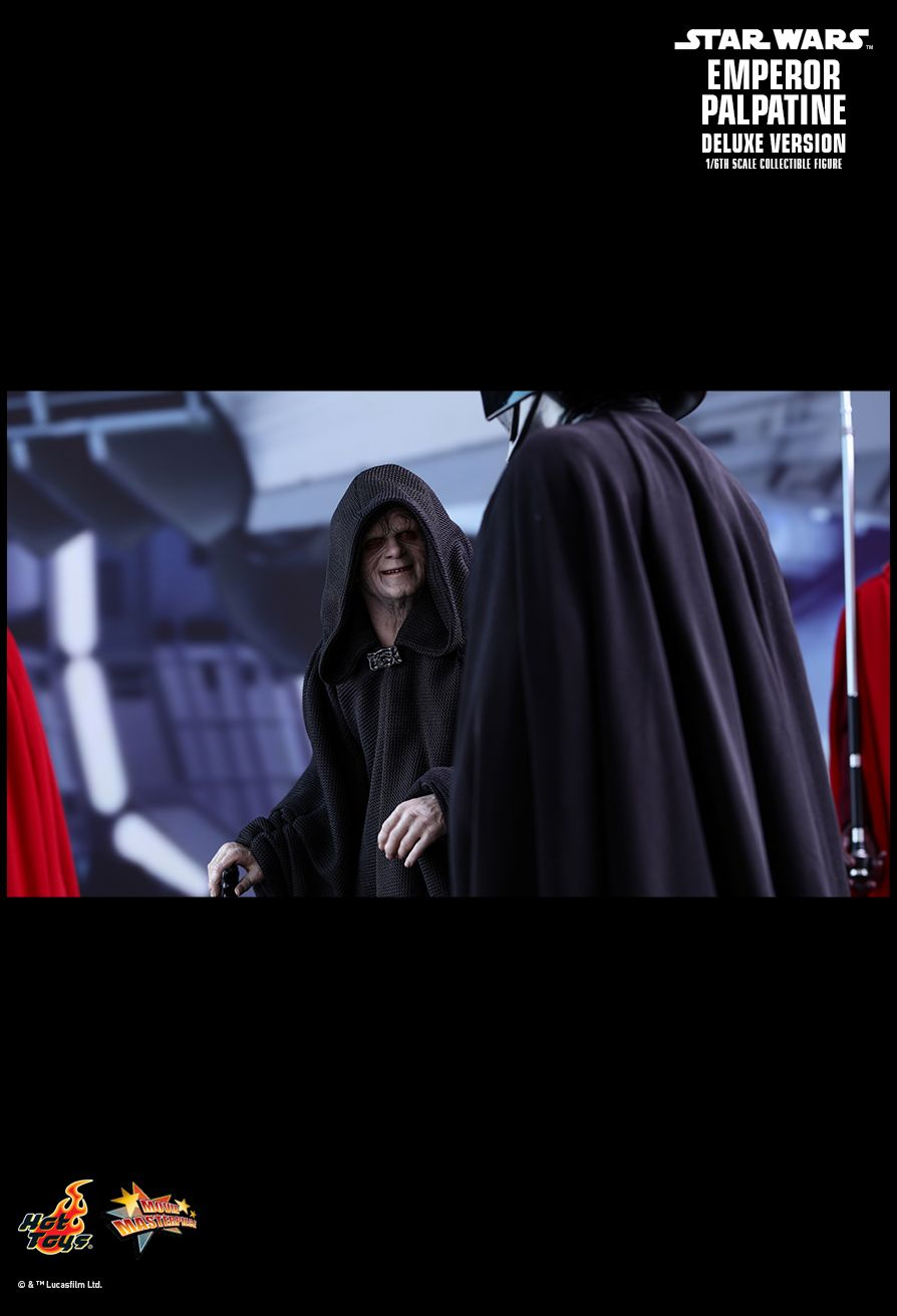 Emperor Palpatine (Deluxe Version) Sixth Scale Figure by Hot Toys