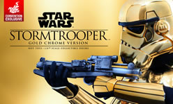 Hot Toys Stormtrooper Gold Chrome Version