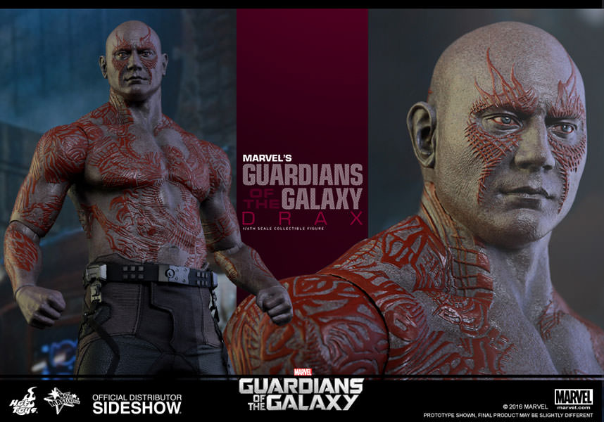 Drax the Destroyer  Sixth Scale Figure by Hot Toys Movie Masterpiece Series