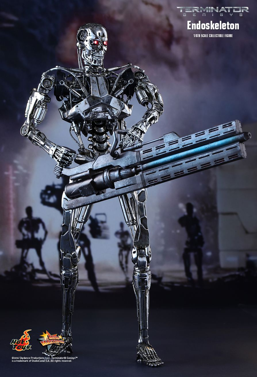 Endoskeleton Sixth Scale Figure by Hot Toys Movie Masterpiece Series
