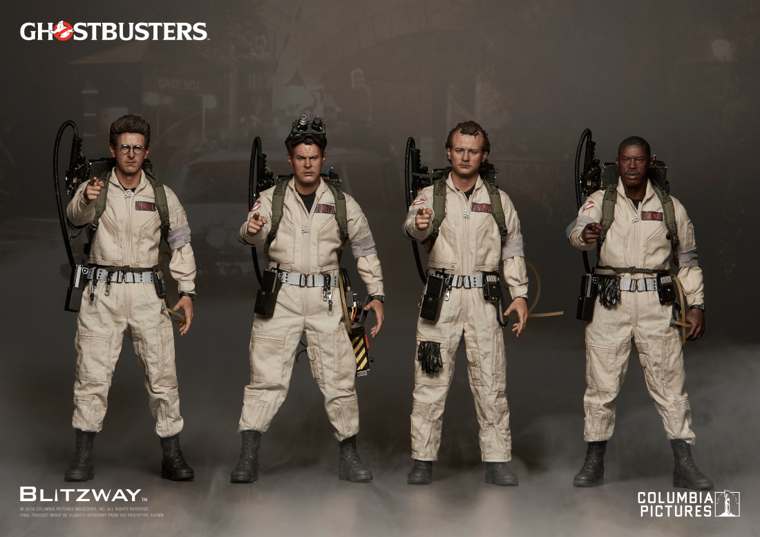Blitzway Ghostbusters - Exclusive 4 Pack