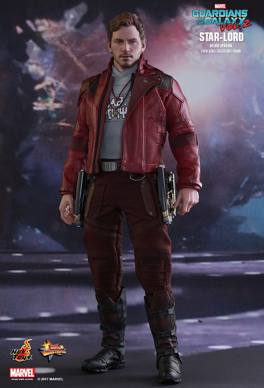Star-Lord (Deluxe Version)  Guardians of the Galaxy Vol 2 - Masterpiece Series  Star-Lord (Deluxe Version)  Guardians of the Galaxy Vol 2 - Life-Size Masterpiece Series
