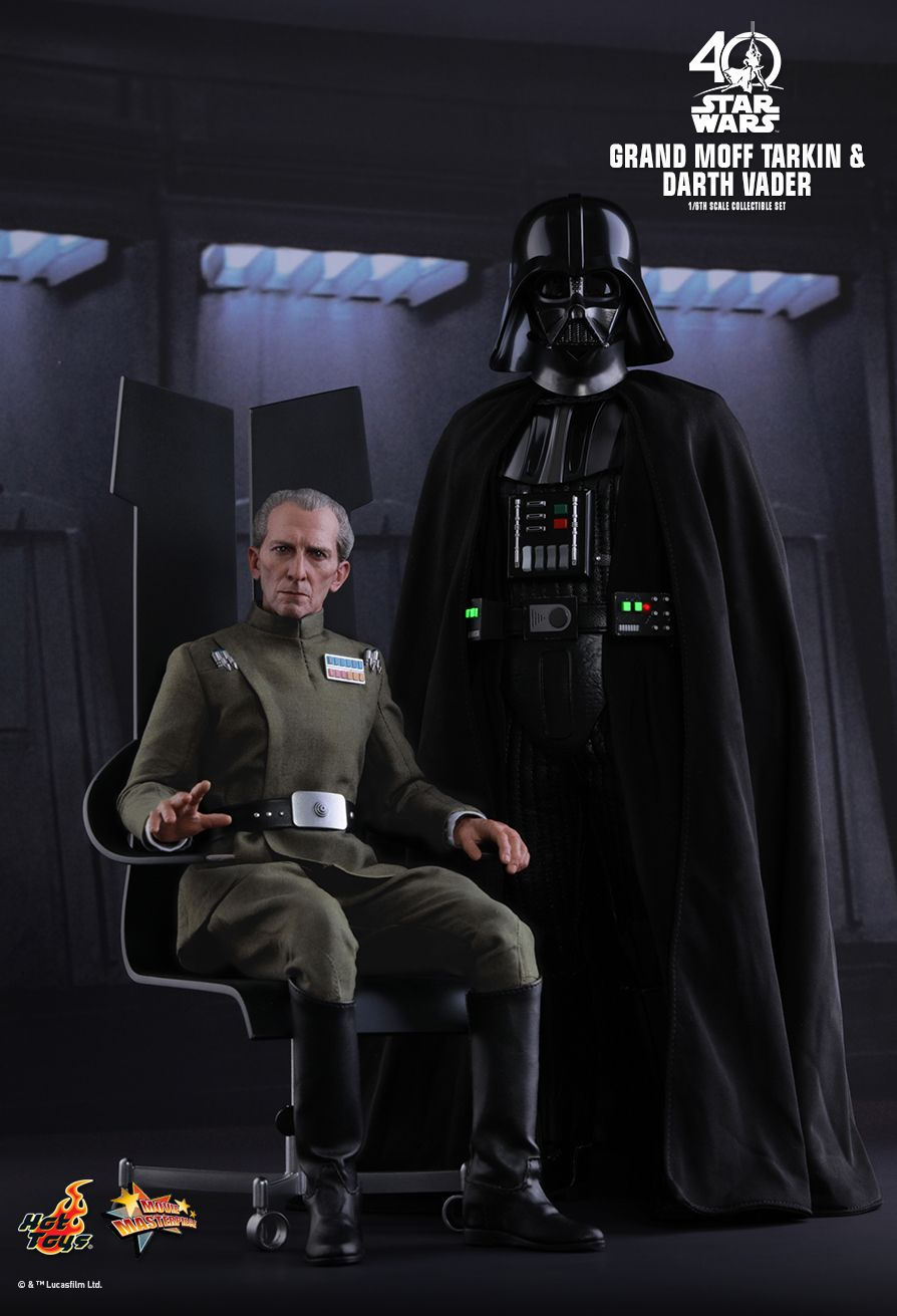 Grand Moff Tarkin & Darth Vader Deluxe Set  Episode IV: A New Hope - Movie Masterpiece Series