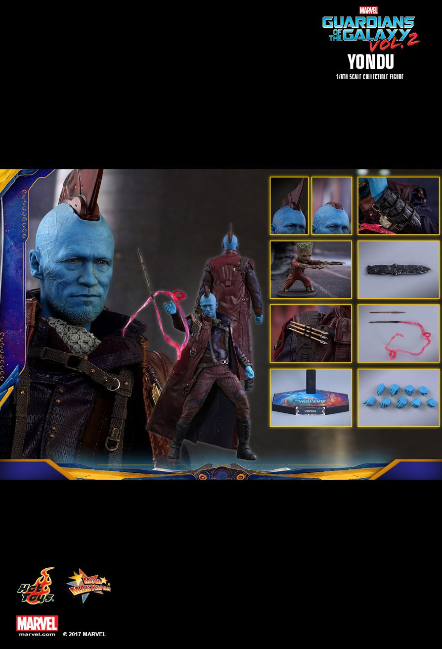 Yondu (Standard Version)  Guardians of the Galaxy Vol 2 - Masterpiece Series