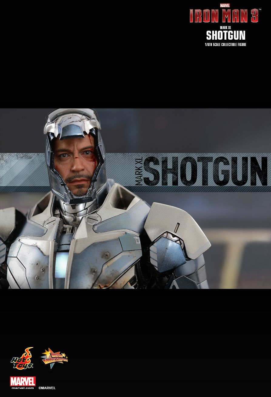 Iron Man Mark 40 Shotgun  Sixth Scale Figure by Hot Toys Movie Masterpiece Series
