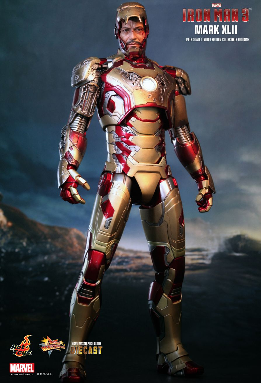 Iron Man Mark XLII (42) - Hot Toys